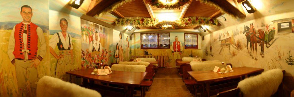 Restauracja w centrum Wisły